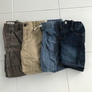Toddler Boy Shorts Lot - 4T/4